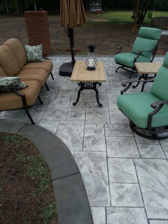 Stamped Concrete Patios | GC Construction Services Inc | Concrete ...